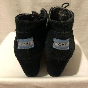 Black Toms Booties